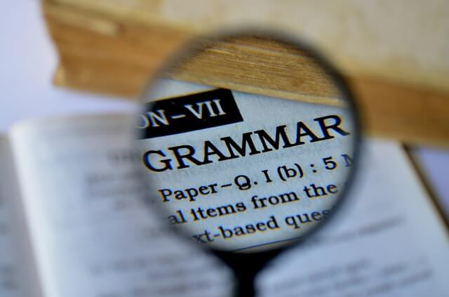 grammatik deutsch können